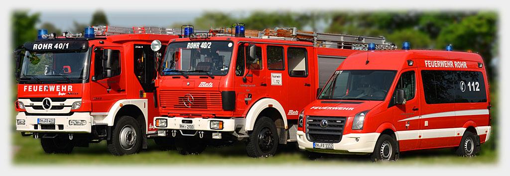Feuerwehr Rohr